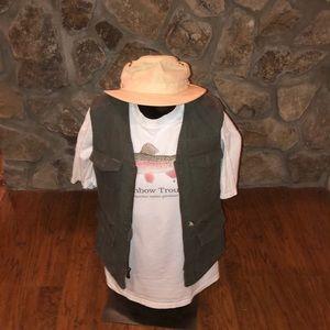 Retro LL Bean Fishing/Field Vest. Size M Reg.